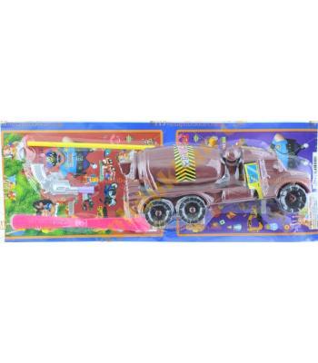 Toptan pervaneli beton kamyonu oyuncak promosyon set ucuz fiyat