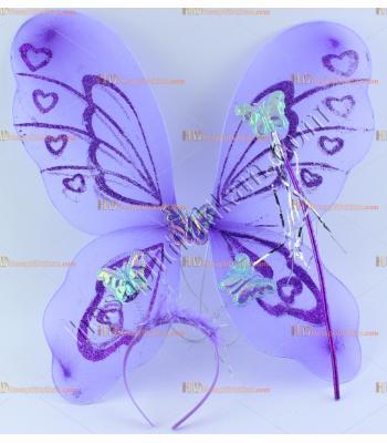 Toptan kelebek melek kanat ucuz fiyat lila