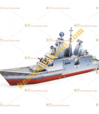 Toptan 3d puzzle French Horizon savaş gemisi 4 karton 51 parça