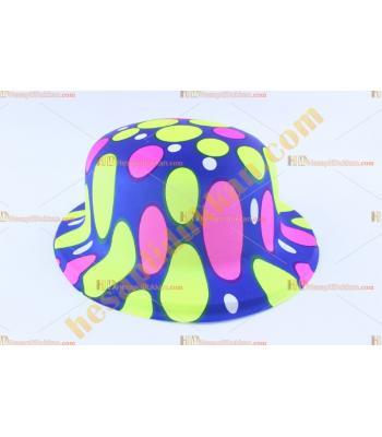 Toptan plastik parti şapkası karışık balon renk