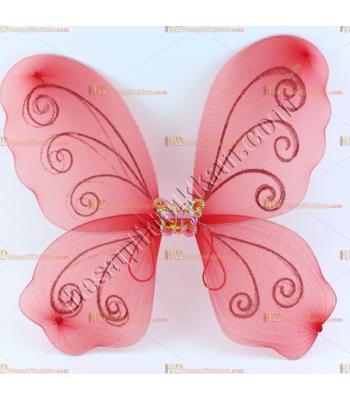 Toptan kelebek melek kanat ucuz fiyat kırmızı