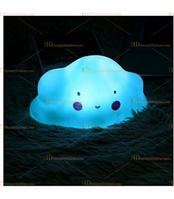 Toptan şirin bulut gece lambası yeşil