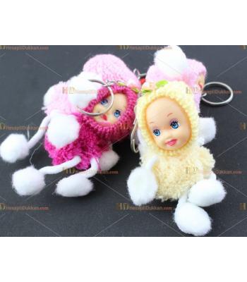 Toptan peluş anahtarlık bebek ucuz fiyat
