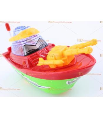 Toptan promosyon plastik oyuncak ipli zilli hareketli gemi