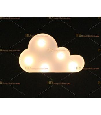 Toptan kaktüs led lamba beyaz bulut