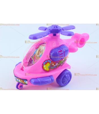 Toptan ipli promosyon oyuncak pembe helikopter