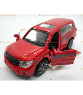 Toptan oyuncak kırmızı jeep metal çek bırak araba