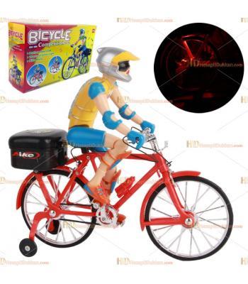 Toptan fiyat ışıklı müzikli pilli bisiklet oyuncak