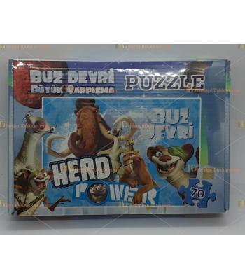 Toptan buz devri puzzle 70 parça