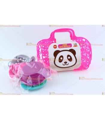Toptan oyuncak promosyon çantalı piknik yemek seti