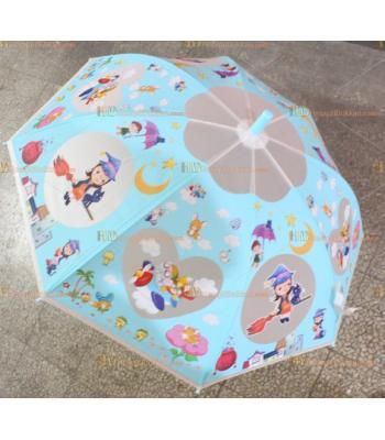 Toptan promosyon çocuk şemsiye ucuz fiyat mavi