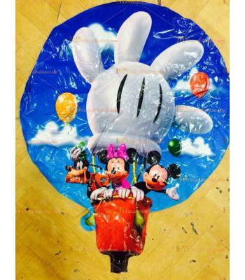 Toptan mikili helyum folyo uçan balon