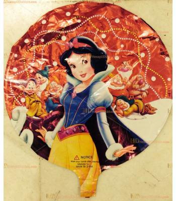 Toptan pamuk prenses cüceler folyo uçan balon