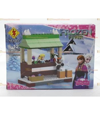 Toptan oyuncak lego frozen 110 parça