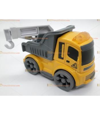 Toptan oyuncak kırılmaz iş makinesi çekici SM8776