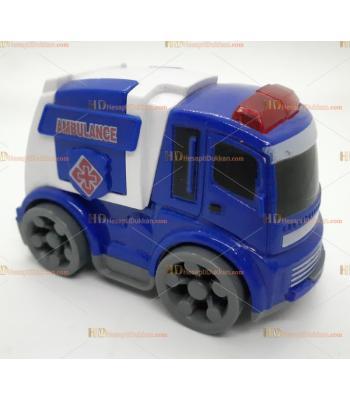 Toptan oyuncak kırılmaz araba ambulans SM8778