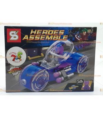 Toptan oyuncak kahraman araç lego