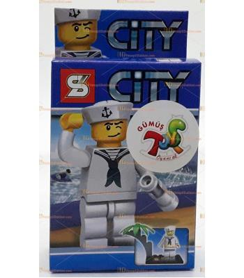 Toptan oyuncak lego figür denizci