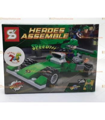Toptan oyuncak lego kahraman araba