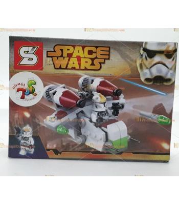 Toptan oyuncak lego yıldız savaşları transporter