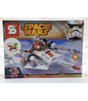 Toptan oyuncak lego yıldız savaşları hücum bot