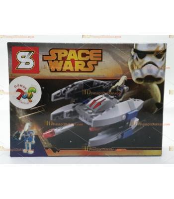 Toptan oyuncak lego yıldız savaşları filo gemisi