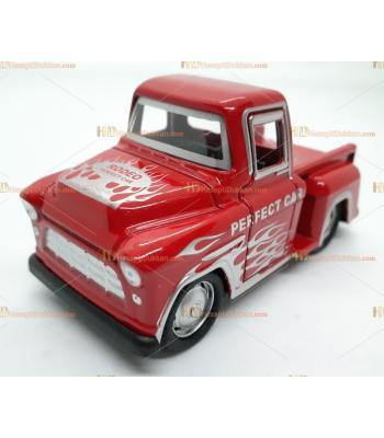 Toptan oyuncak araba çek bırak rodeo kamyonet kırmızı