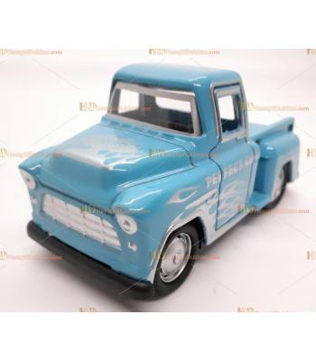 Toptan oyuncak araba çek bırak rodeo kamyonet mavi