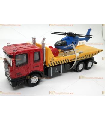 Toptan oyuncak taşıyıcı araç araba helikopter çek bırak metal plastik