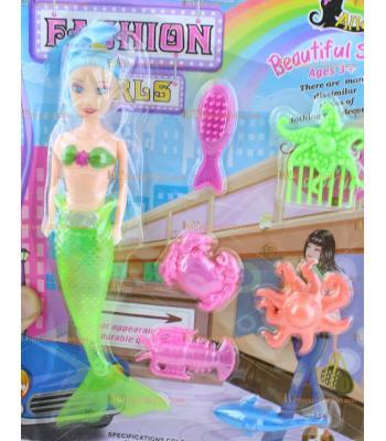 Deniz kızı oyuncak bebek toptan aksesuarlı