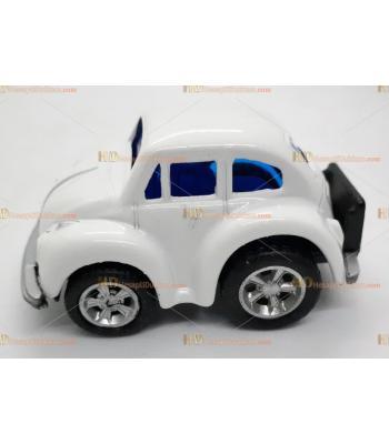 Toptan vosvos oyuncak araba mini beyaz çek bırak metal