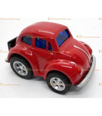 Toptan vosvos oyuncak araba mini kırmızı çek bırak metal