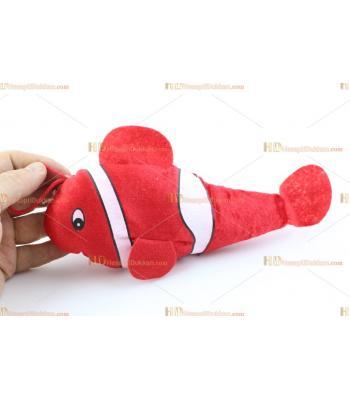 Toptan peluş oyuncak süs balık 25 cm