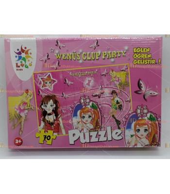 Toptan prenses puzzle 70 parça