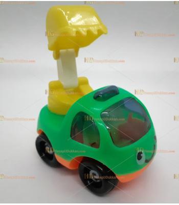Toptan oyuncak kırılmaz araba kepçe SM8784