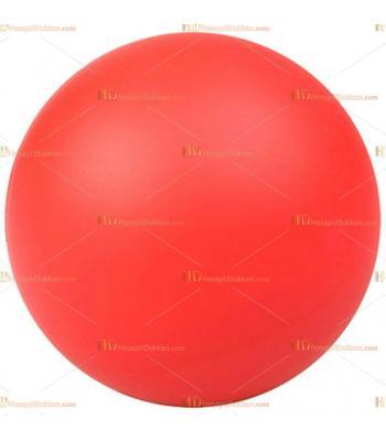 Toptan ucuz fiyat promosyon stres topu büyük boy logosuz kırmızı