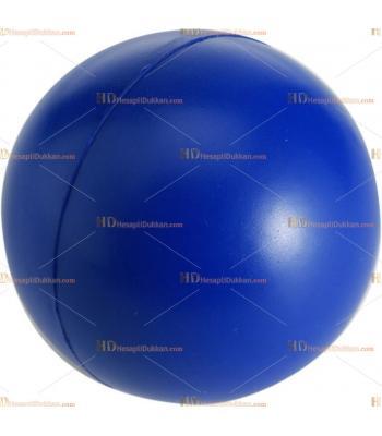 Toptan ucuz fiyat promosyon stres topu büyük boy logosuz koyu mavi