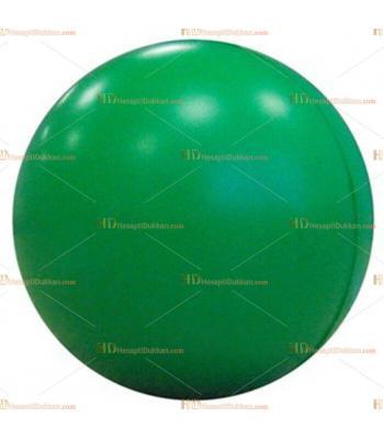 Toptan ucuz fiyat promosyon stres topu büyük boy logosuz yeşil