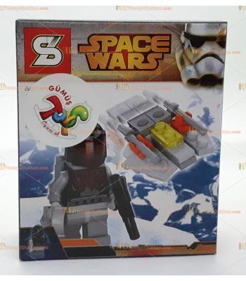 Toptan oyuncak lego yıldız savaşları suikastçı