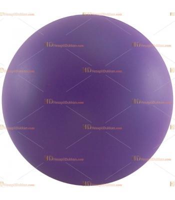 Toptan ucuz fiyat promosyon stres topu büyük boy lila