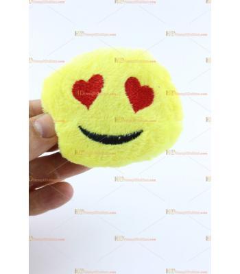 Toptan makine peluş anahtarlık emoji mini
