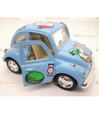 Toptan oyuncak araba çek bırak şekerli vosvos mavi