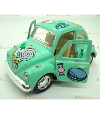 Toptan oyuncak araba çek bırak şekerli vosvos yeşil