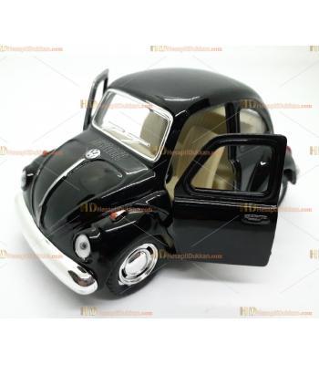 Toptan oyuncak araba çek bırak metal vosvos siyah