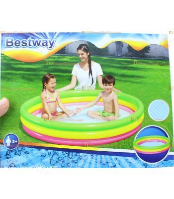 Toptan 1.52 m şişme çocuk havuzu kutulu