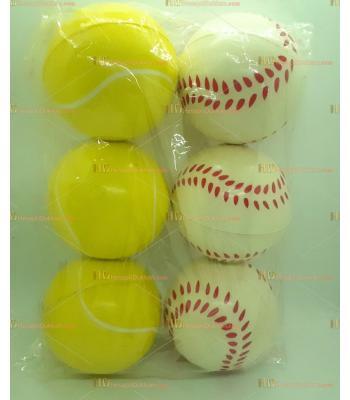 Toptan 10 cm baseball tenis stres topu