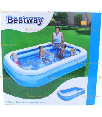 Toptan 2.62 m aile boyu büyük şişme havuz
