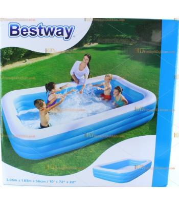 Toptan 3.05 m aile boyu büyük şişme havuz