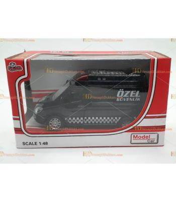 Toptan oyuncak kutulu güvenlik araç metal çek bırak sesli ışıklı