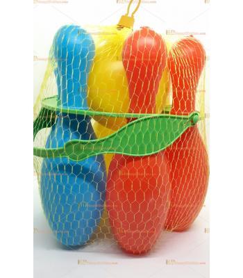 Toptan oyuncak bowling seti büyük boy plastik